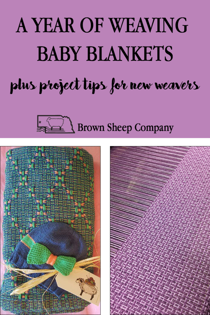 Handwoven Baby Blankets Brown Sheep Company Inc